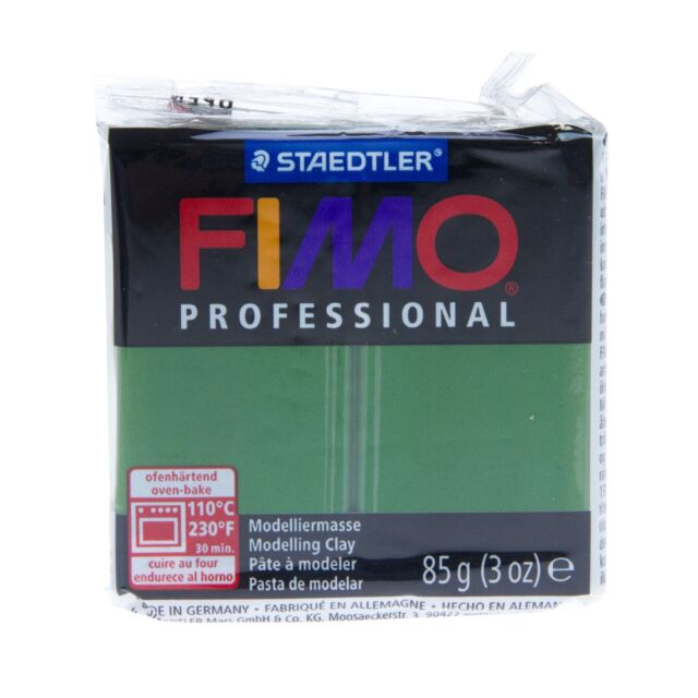 White White Fimo Professional Polymer Modelling Oven Bake Clay 85g