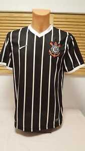 Corinthians-Sao-Paulo-SC-Away-Jersey-Shirt-Camiseta-Camisola-Trikot-Nike-M-2012