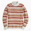 M Isle crew Sweater Large Mockneck J Nwt Fair S wqA0Z0H