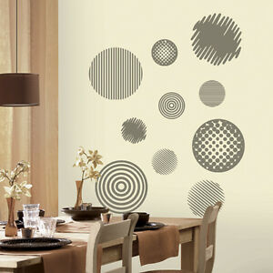 Going In Circles Peel Stick Wall Mural Sticker Ebay