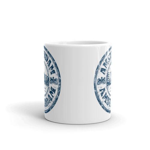 Amsterdam Países Bajos 10oz de alta calidad té café taza #5910