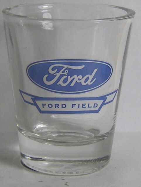 Ford ~ Ford Field Shot Glass #1058