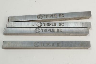 "5 New FMP Parkin UK Triple 5C Cobalt Hss  Lathe Tool Bit 5//8/"" Square x 4/"""