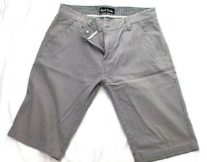 Paul-Smith-Collection-Mens-Chino-Shorts-Smart-Casual-Size-32-Grey-Men-039-s-fault