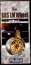 Felgen BBS LM 18 Zoll inkl. Reifen und Bremsscheiben, 1:24,  Fujimi 192727
