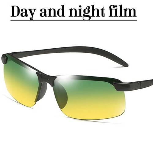 Unisex Photochrome polarisierte Sonnenbrille Reise Tag Nacht Brille Brille Neu