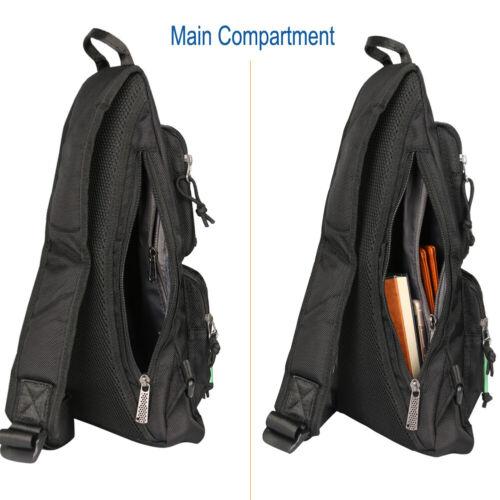Men Sling Bag Anti Theft Backpack Chest Bag Shoulder Bag Travel Crossbody Bags