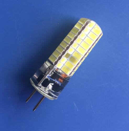 GY6.35 GX6.35 T5 5W Bombilla LED 72-5730SMD 12 ~ 24V 60W equivalente de luz barco de vehículos recreativos