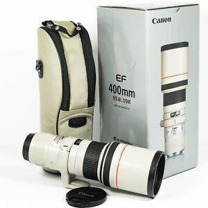 CANON EF 400MM F/5.6 L USM Prime super TELEPHOTO Lens NEAR