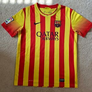 Nike FC Barcelona Away Soccer Jersey Youth/Boys Size XL 13-15 Yrs | Dri-fit