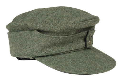 Mil-Tec WH PZ militaire à m43 Repro Taille 56-62 WEHRMACHT UNIFORME Visiere
