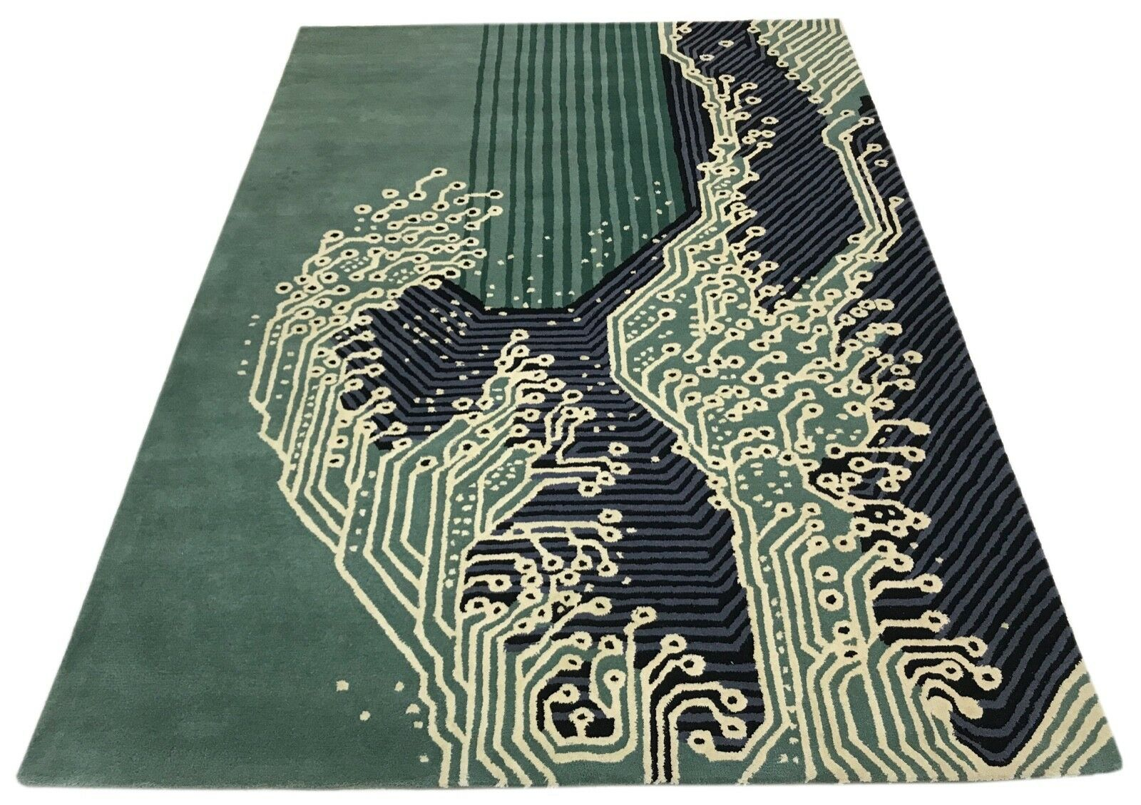 Scheda madre Designer Tappeto 170x240 cm fatto a mano  100% LANA-handgetuftet