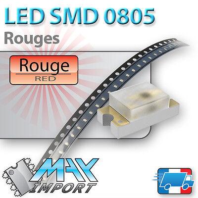 LED SMD // CMS 0805 Vertes prix dégressifs - Lots multiples Green - Vert