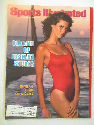 1982 Carol Alt Sports Illustrated Swimsuit Issue NO LABEL February 8