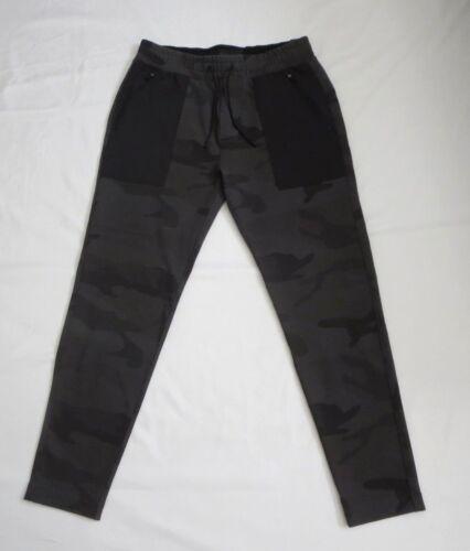 Avec Étiquettes Neuf Noir Abercrombie Fitch amp; Camouflage Actif Hommes Conique q6pwpd5