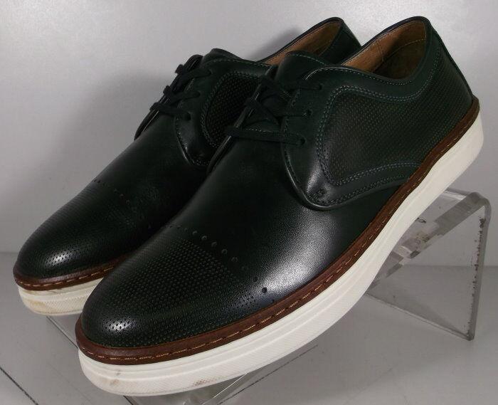 271445 MS50 Chaussures Hommes Taille 9.5 M Noir en Cuir 1850 Series Johnston & Murphy