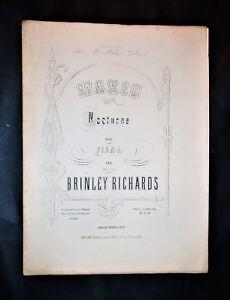 Musica Spartiti - Marie - Nocturne pour piano - Brinley Richards - Op. 60 - Italia - Si accetta la restituzione degli oggetti venduti entro 7 gg. dalla data di vendita. - Italia