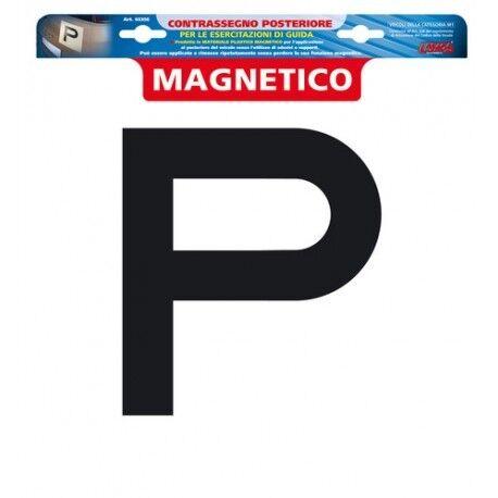 Contrassegno per esercitazioni guida Posteriore magnetico