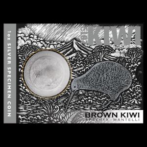 Neuseeland-2019-Silber-1-im-Blister-Iconic-Brown-1-Unze-Brown-Kiwi