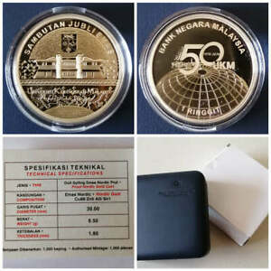2020-Malaysia-1-Ringgit-UKM-50th-Years-Nordic-Gold-Proof-Commemorative-Coin