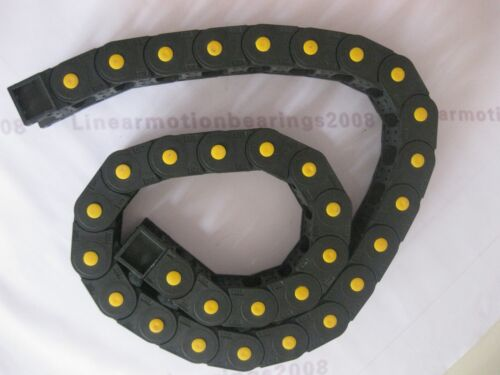 1 Cable drag chain wire carriers 25*57*R75-2500mm for CNC router