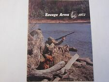 1972 Savage Arms Shotgun Gun Rifle Catalog LOTS More Listed!!!