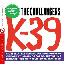 K-39 by The Challengers (Surf) (CD, Dec-2012, Essential Media Group)