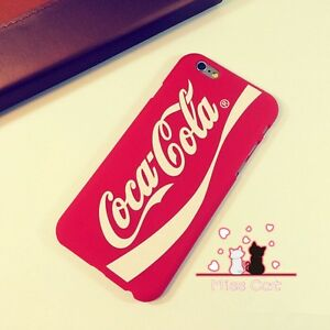 IPhone-6-6s-amp-6s-Plus-Red-Coca-Cola-ULTRATHIN-MATTE-Hard-Fashion-Cool-Phone-Case