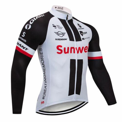 YQ588 New Cycling Riding Winter Thermal Fleece long sleeve jersey Bib Pants Kit