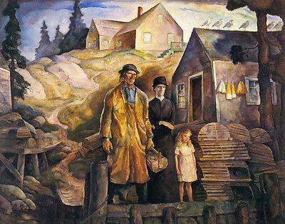 """POKER,/""""Wild Bill Calls/"""" WEST COWBOY 20/""""x16/"""" ART 1916 N.C Wyeth Artwork"""