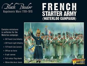 Warlord Games Napoleonic Français Starter Armée De Terre Waterloo Campagne