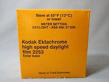 RARE KODAK EKTACHROME HIGH SPEED DAYLIGHT FILM 2253 150FT 35MM CAMERA