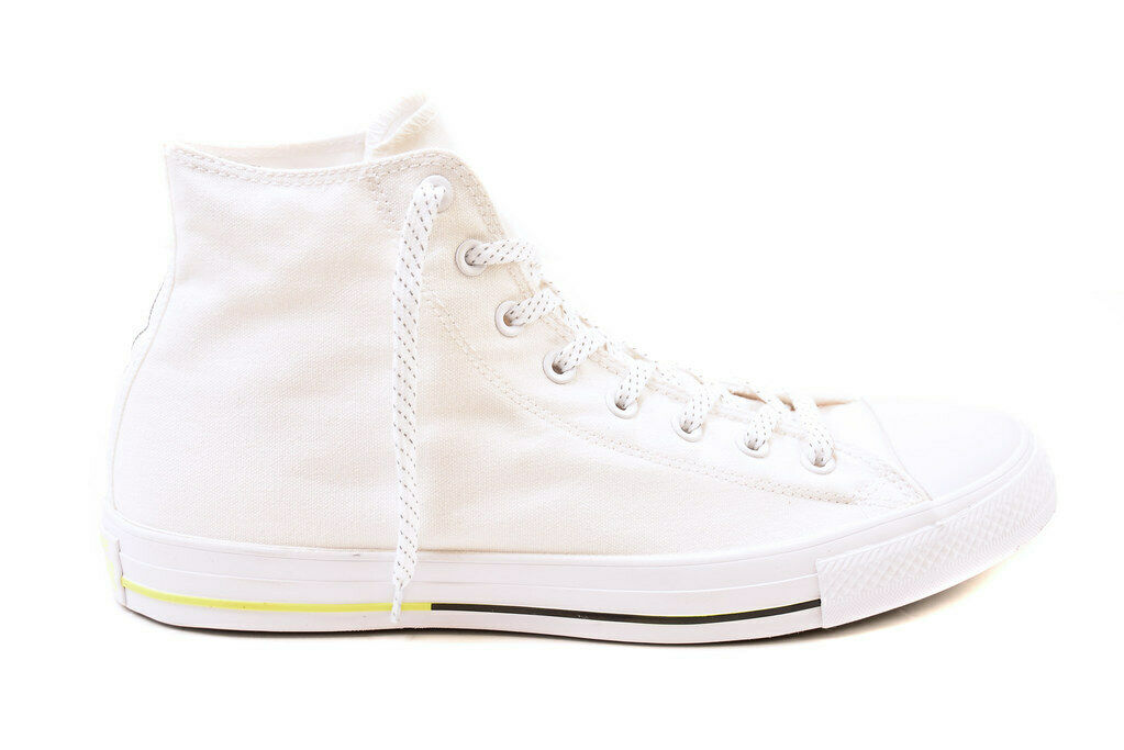 Converse Junior Chuck Taylor All Star HI 153791C Sneakers White Size US 2.5