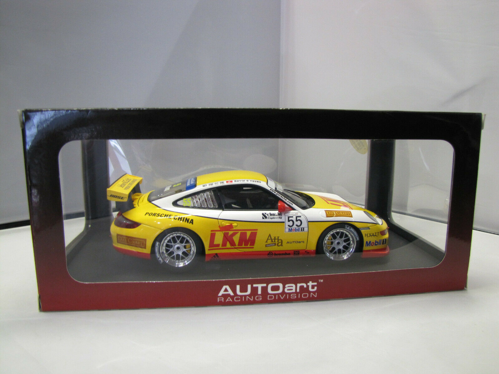 80785 AutoArt Porsche 911 gt3 (997) CARRERA CUP ASIA Nº Nº Nº 55 - 1 18 ecac51