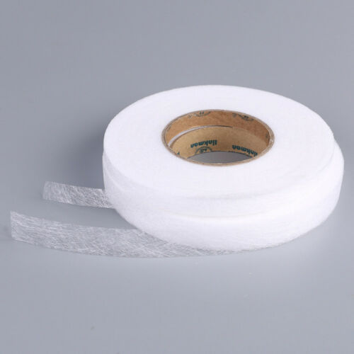 100 yards Iron On Hemming Tape Roll Turn Up Hem Clothes Sewing Craft Multisize