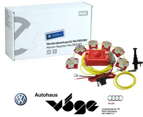 Original VW Marder Abwehranlage K/&K M4700 VWZ Ultraschall Hochspannung Schreck