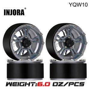 1.9 171g/pcs Heavy Beadlock Wheel Rim for 1/10 RC Axial SCX10 90046 D90 AXI03007