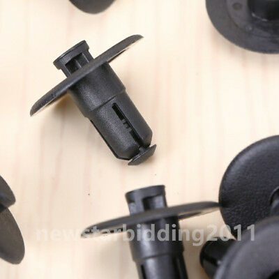 Pack Of 50 Push-Type Radiator Support Sight Shield Clips For GM 25695687