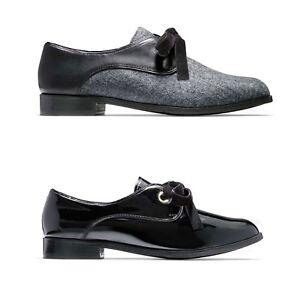 a684bb78d7 NEW Cole Haan Women's Jaylyn Oxfords Velvet Lace Flat Fashion Shoes ...