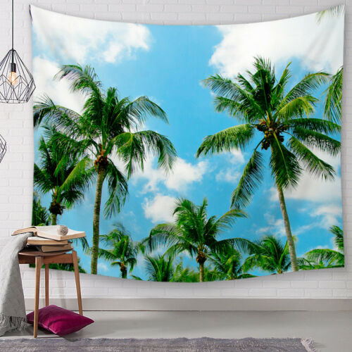 summer style sea beach landscape tapestry wall hanging home decor Table Cloth