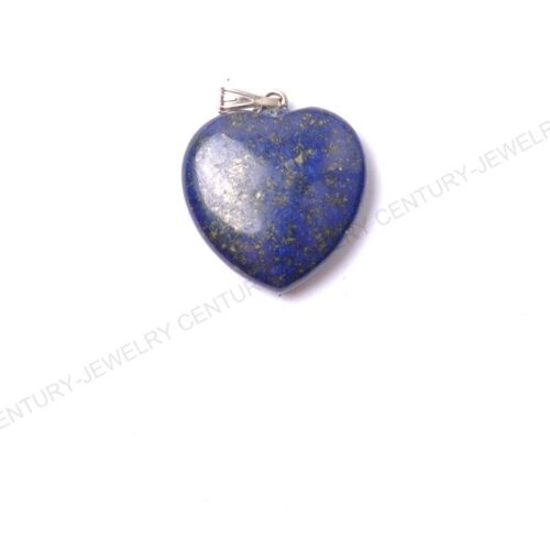 Natural Gemstones heart-shaped Reiki Chakra Pendant Beads Necklace Earrings