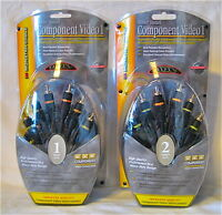 Monster Cable Hdtv Hi-perf Component Video 1 1m/3.3ft 140223 Or 2m/6.6ft 140224