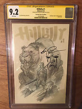 HILLBILLY  #1  CGC SS 9.2  SDCC VARIANT  (SKETCH & SIGNED BY ERIC POWELL)