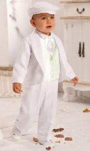 Taufanzug 6tlg Babyanzug Taufe Junge Plastron 62 68 74 80 86 Hochzeit Krawatte Ebay