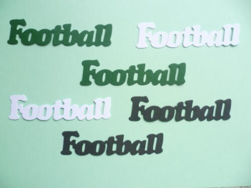 FOOTBALL WORD DIE CUTS FOR CARD TOPPERS