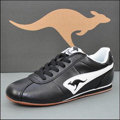 KangaROOS »Coline« Sneaker Freizeitschuhe Turnschuhe Schwarz/Weiß - 31591 500