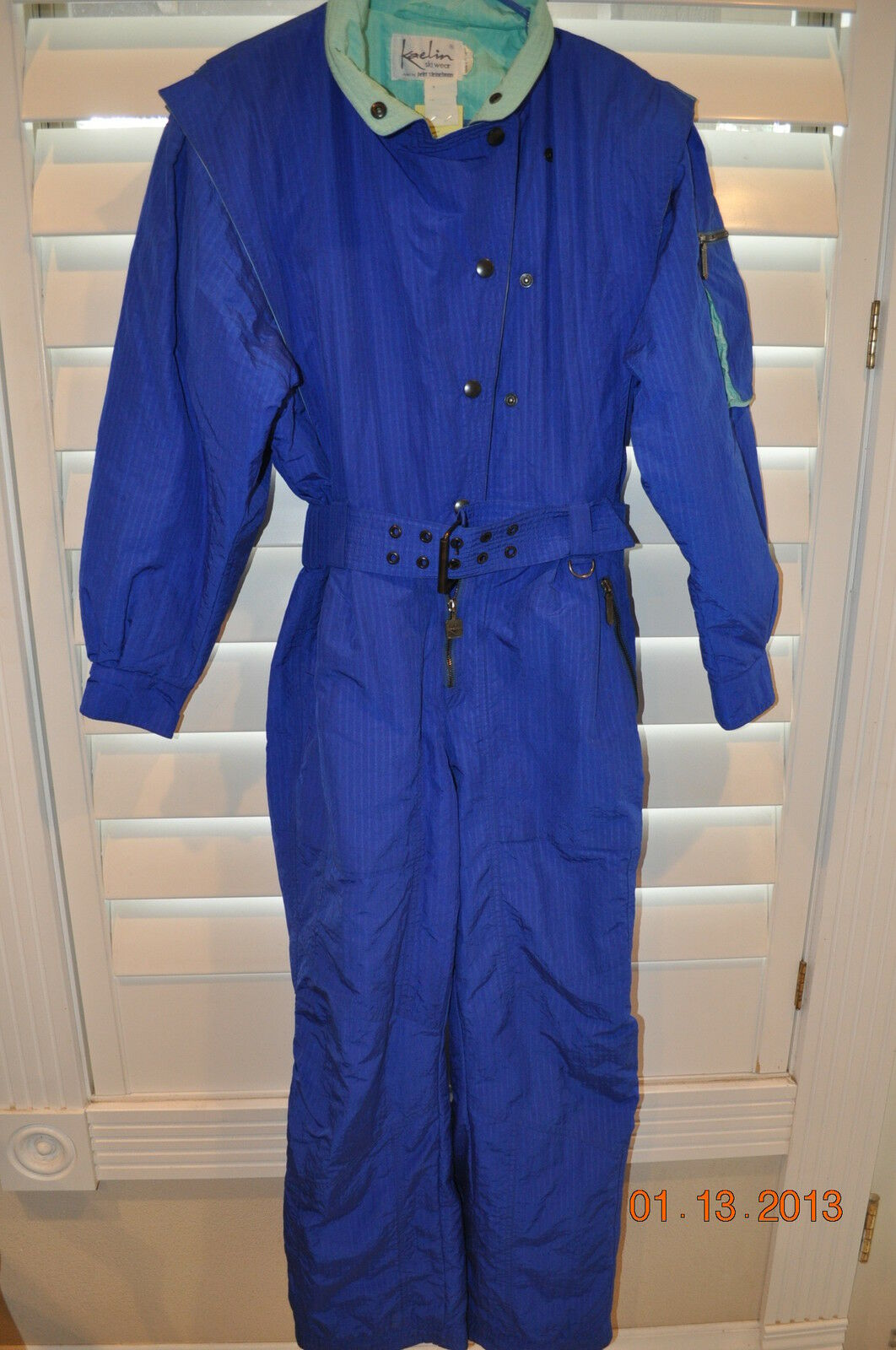 Ski Suit Snowboarding KAELIN SKIWEAR Peter Steinebronn bluee Insulated  Med Unisex  all in high quality and low price