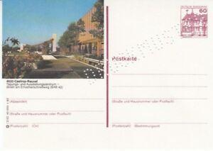 P-138-Serie-l-Burgen-amp-Schloesser-Bildpostkarte-Druckmuster-Castrop-Rauxel