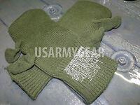 Warm Us Army Wool Ecwcs Trigger Finger Mitten Inserts Od Liner Gloves L Usgi