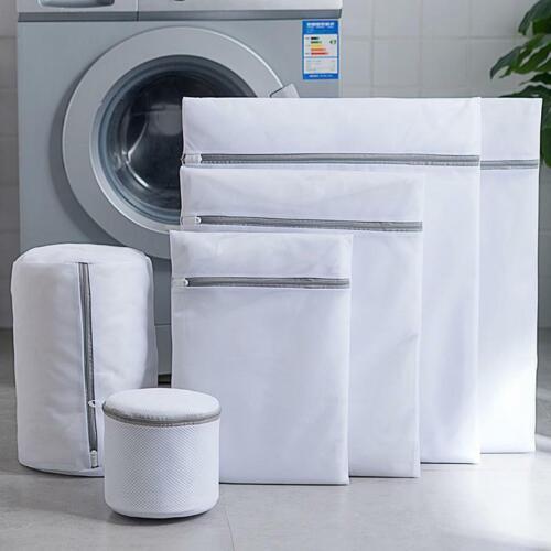Nylon Laundry Bag Net Mesh Washing Bags Underwear Clothes Bra Socks 8 Sizes